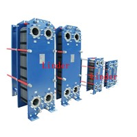 gasket plate heat exchanger for supply heating