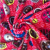 2015 Suzhou  100% polyester super soft printed steam velour /velour of China supplier