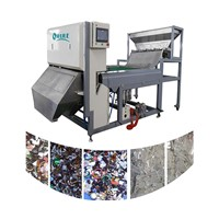 high-resolution CCD camera plastic color sorter machine for PE,PMMA, PVC,ABS,EVA,PET, etc. sorting