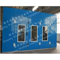 Hot sale standard car spray booth/painting spray booth /painting booth room