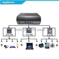 mini solar power box battery energy generator for HD SDI CCTV Camera