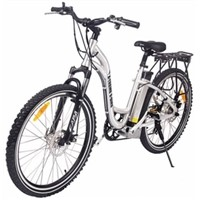 X-Treme TRAIL-CLIMB Electric Bicycle with Lithium Batteries, 300 Watts Hub Motor