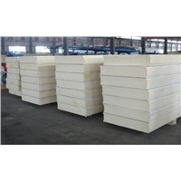 Glass Wool Rock Wool EPS Sandwich Panel for prefabricated house panel
