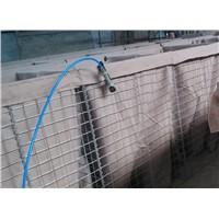 Pre-Fabricated Hesco Welded Mesh Gabion Barrier Blast Wall