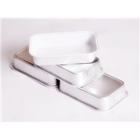 8011 Soft Lubricated Oil White Lacquered Aluminium Foil for Airline Container