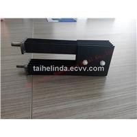 Iridium coating titanium anodes
