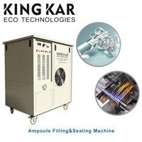 Oxy Hydrogen Flame Ampoule Filling and Sealing Machine