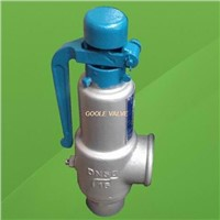 Spring loaded low lift type safety valve