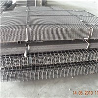 Plain Weave Crimped Wire Woven rock crusher screen for mining
