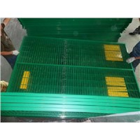 Powder Coated Square Tube Canadian Temporary Construction Fence Panel
