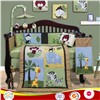 baby boy bedding set jungle animal cot bedding sets crib bedlinen nursery beddings