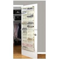 26 pair shoe rack , pocket Hanging Organizer/Rack, Door Storage, Door Space Saver