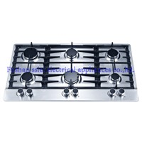 6 Burners Stainless Steel Gas Cooker (9216S1)