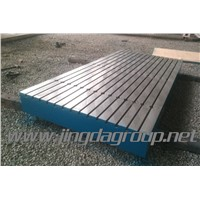 Cast Iron T-slot surface plate