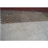 Hot Dipped Galvanized  hexagonal Gabions Stone Cage netting for rock retaining wall