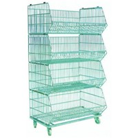 4 layers removable mesh shelf