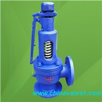 A47 spring loaded low lift type high pressure safety valve