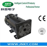 48 Volt DC Series-Excited Motor For Electric Flat Rail Car