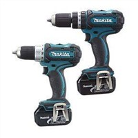 Makita LXT232 18V Li-Ion Combi Drill & Drill Driver Twin Pack Power Tool