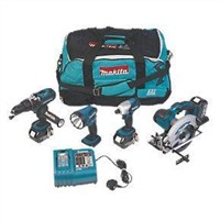 Makita LXT400 18V Li-ion LXT 4 Piece Kit Power Tool