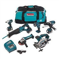 Makita LXT600 18V Li-ion LXT 6 Piece Kit 6Pcs Power Tool