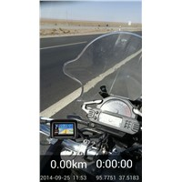 Waterproof motorcycle gps with 32GB touch screen gps navigation