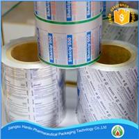 pharmaceutical aluminum foil for blister packaging