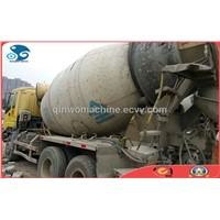 360HP Isuzu Used Concrete Mixer Truck (6 Cylinders)