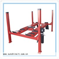 Low price cheap 4 post hydraulic car lift price