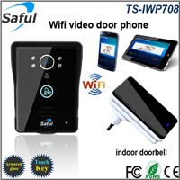 stable loud calling wireless remote unlock wifi doorbell intercom system