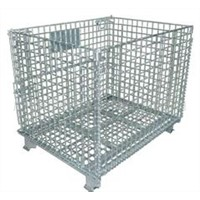 steel foldable storage trolley cart