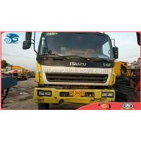 used isuzu 10CBM 6 cylinders concrete mixer truck