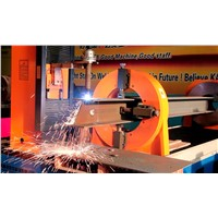 angle steel/h beam/irregular tube cnc plasma cutting machine