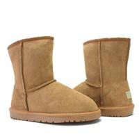 5825 wholesale doubleface classic short sheepskin boots