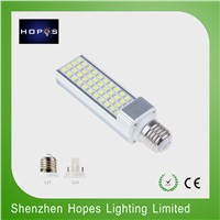LED PL bulb light 9W with E27 G24 base