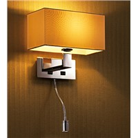 Rectangular table lamp for hotel/living room decoration