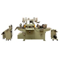 Pre-Printed Plastic Film In Mould Label Die Cutter Machine From Roll To Sheet Through Cutting