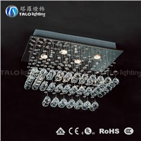 modern crystal ceiling lighting LED ceiling light fixtures for bedroom