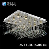 2015 hot sale LED modern crystal pendant ceiling lighting fixtures