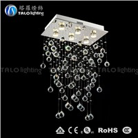hot sale 2015 new products LED pendant lamp crystal chandeliers