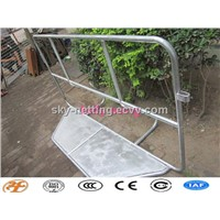 Haotian metal galvanized stage crowd barrier factory