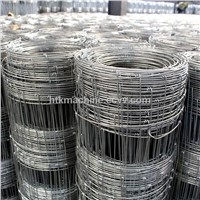 Manufacturing Hot Dipped Field Fence