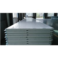 50 75 150 200mm metal roof wall steel  aluminum sandwich panel