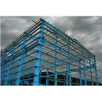 Prefab Galvanized Steel Frame Structure for Factory  Warehouse