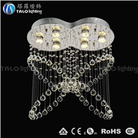 Zhongshan Guzhen lighting modern crystal pendant light for living room