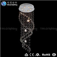 Chinese hot sale crystal chandelier modern LED pendant lamp