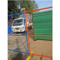 Portable Visible Steel Temporary Fence Panels for Construction Building Projects and Special Events