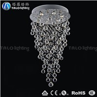 Chinese top K9 crystal pendant lamp  LED chandelier ceiling lamp