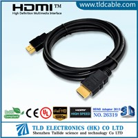 Premium HDMI Gold Cable 1080p HD LCD HDTV Video Lead 1m
