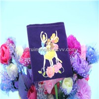 Beauty Christmas Candy Velvet Gift Bag Wholesale
